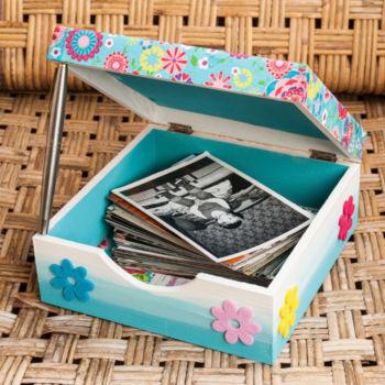 Bastelmaterial zu Fotobox