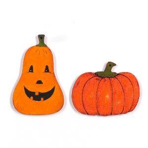 Naturholzprodukten zu Halloween